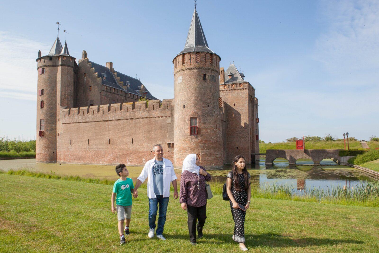A visite to Muiderslot