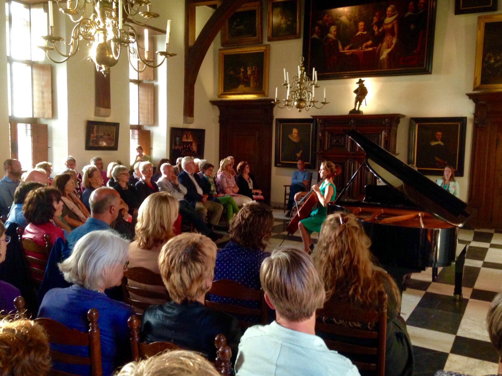 The International Holland Music Sessions at Muiderslot Castle