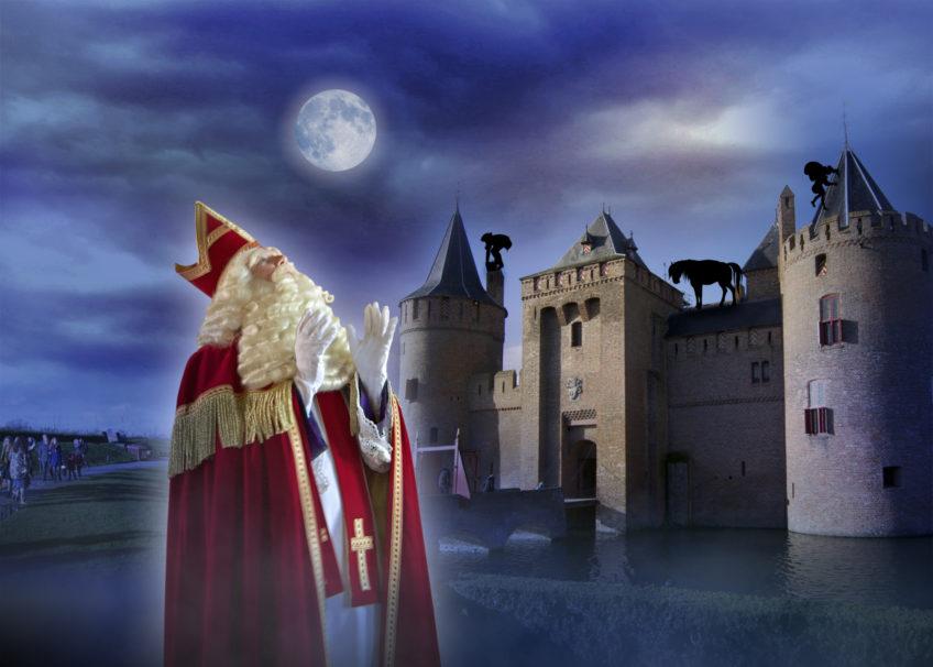 Sinterklaas bij het Muiderslot