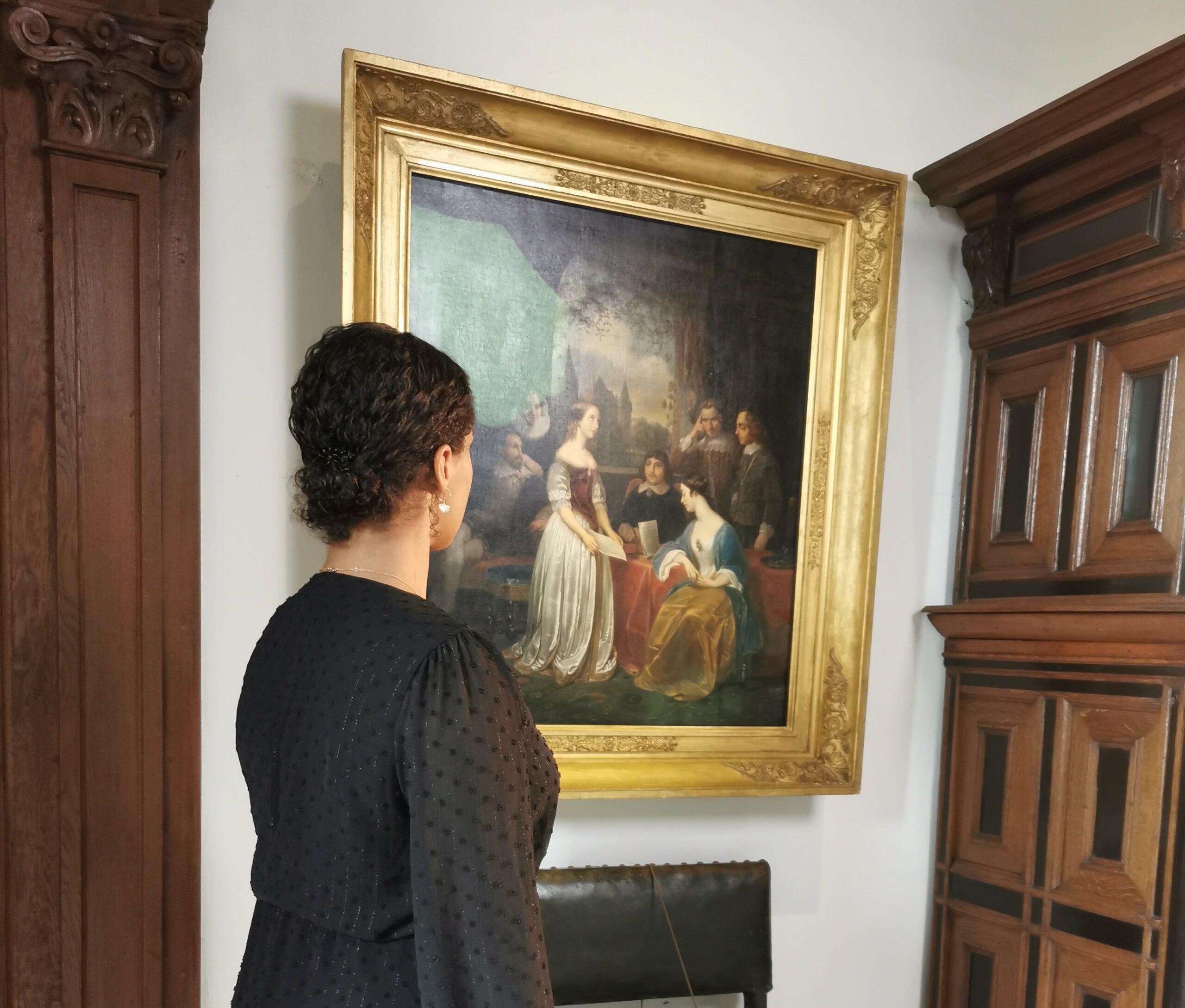 Visual thinking tour kijken naar een schilderij