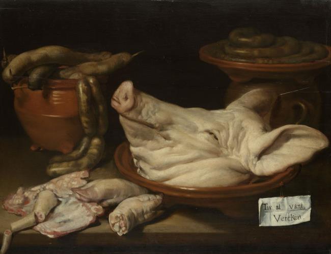 Buikspek zoals de Bourgondiërs het maakten bij het muiderslot