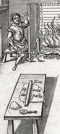 gravure braadspit