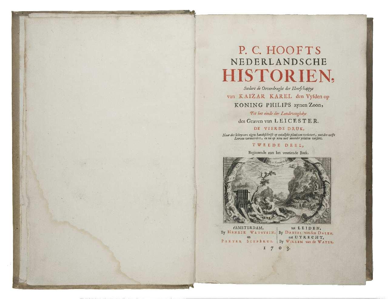 Neerlandse geschiedenis topstuk P.C. Hooft