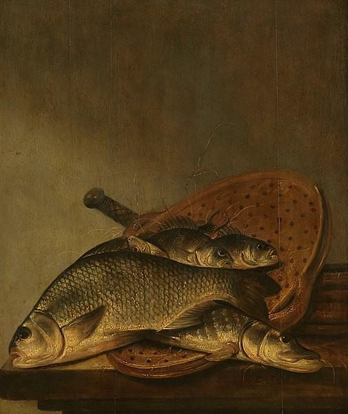 Stilleven met vis voor heerlijke recepten