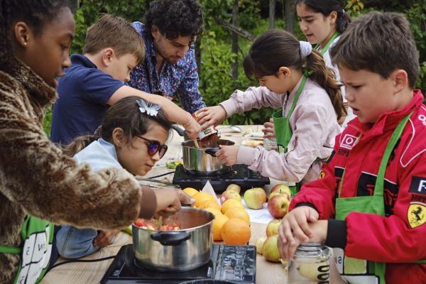 koken voor kids bij het Muiderslot fawaka