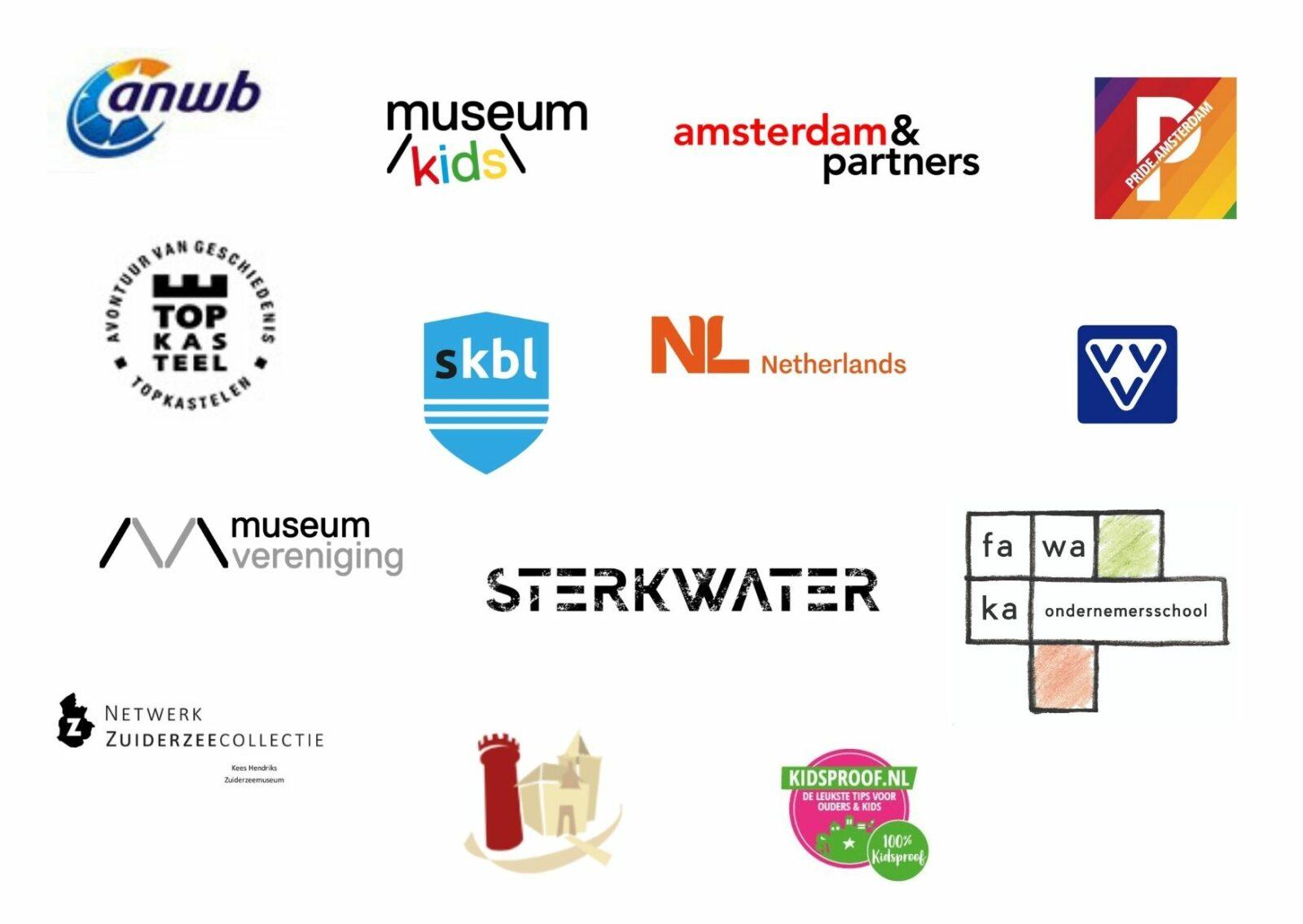 partners waar het muiderslot mee samenwerkt 2021