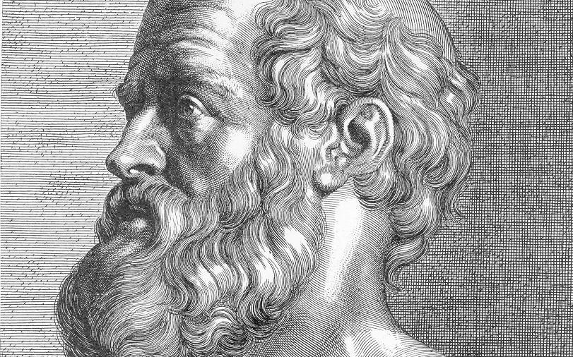 Het hoofd van hippocrates